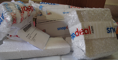 0b4587b20 Another Snapdeal blunder  Customer receives stone instead of Samsung phone!