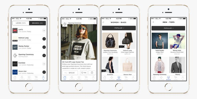 Are consumers ready for app only online shopping the for Shop on line mobili