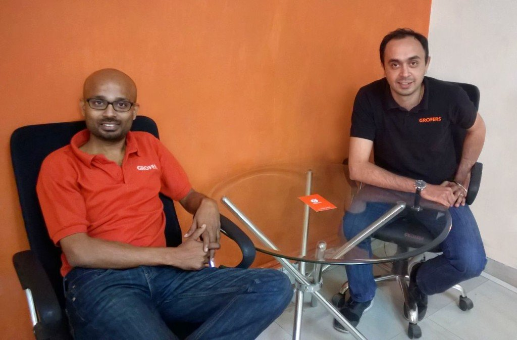 Saurabh Kumar & Albinder Dhindsa, Co-founders of Grofers