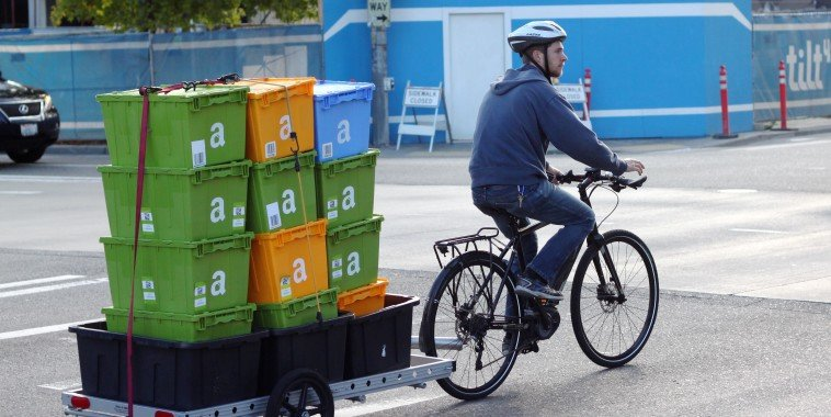 http://www.geekwire.com/2015/life-as-an-amazon-bicycle-courier-steep-hills-and-even-steeper-expectations/
